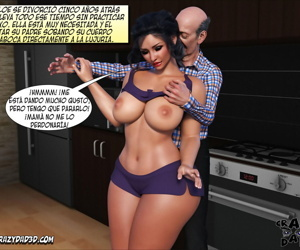 manga Daddy Crazy Desire 1 - part 2, cheating  daughter