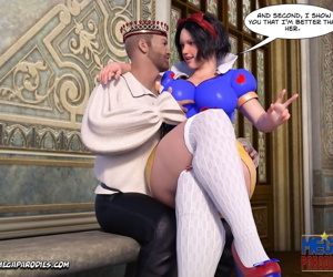 manga Snow White 1 - part 2, evil queen , snow white , uncensored , anal  facial hair