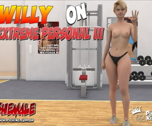 manga Willy on Extreme Personal 3, anal , blowjob  bald