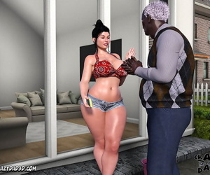 manga CrazyDad3D- Mom's Help 16, big cock , slut  interracical