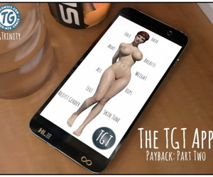 manga TGTrinity- The Tgt App- Payback 2, slut , big boobs  transformation