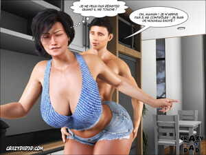 manga Mother - Desire Forbidden 6 - part 2, big penis , muscle  incest