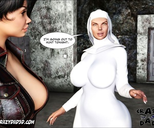 manga CrazyDad3D- White Nun- The Shadow of.., big cock , slut  big-cock
