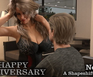 manga Nexstat Happy Anniversary, dark skin , breast expansion  breast-expansion