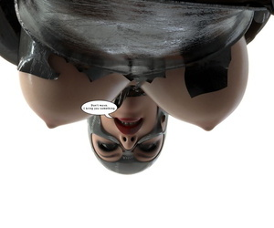 manga Lock-Master-Catwoman Captured 4 - part 2, catwoman , uncensored , gloves  latex