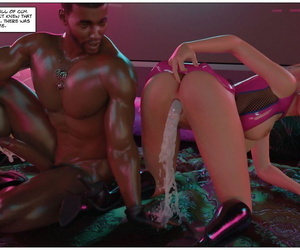 manga Blackmaled Series 3 - Lenkas story 3 -.., anal , dark skin  latex