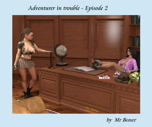 manga Mr. Boner- Adventurer in Trouble 2, slut , big boobs  interracical
