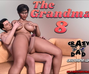 manga The Grandma 8, big penis , glasses